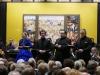 Mozart tour, February 2016, 'Krönungsmesse', soloist quartet: Sytse Buwalda, Martinus Leusink, Henk van Heijnsbergen. In Jheronimus Bosch Art Center