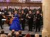 Mozart tour, February 2016, 'Krönungsmesse', soloist quartet: Sytse Buwalda, Martinus Leusink, Thilo Dahlmann. Grote Kerk Naarden.