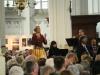 Matthäus Passion 2017 tour, singing 'Aus liebe' in Stevenskerk in Nijmegen. April 2017.
