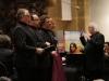 Mozart tour, February 2016, 'Requiem', soloist quartet: Sytse Buwalda, Martinus Leusink, Henk van Heijnsbergen. In Jheronimus Bosch Art Center